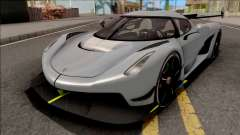 Koenigsegg Jesko 2020 Grey para GTA San Andreas