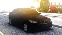 BMW 530XD E60 Black para GTA San Andreas