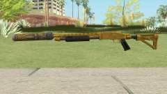 Shrewsbury Pump Shotgun (Luxury Finish) GTA V V3 para GTA San Andreas