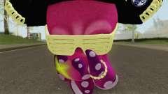 DJ Octavio V2 (Splatoon) para GTA San Andreas
