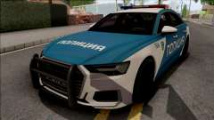 Audi A6 C8 2019 Russian Police