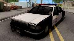 Chevrolet Caprice De 1992, la Policía LVPD SA de