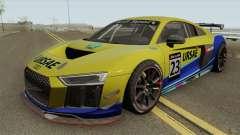 Audi R8 LMS GT4 2018 para GTA San Andreas