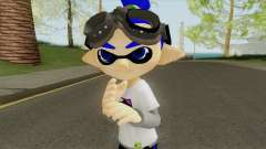 Inkling Boy Blue (Splatoon) para GTA San Andreas