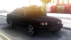 BMW 535 Black Original Sedan para GTA San Andreas