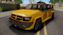 Saints Row IV Steer Taxi IVF para GTA San Andreas