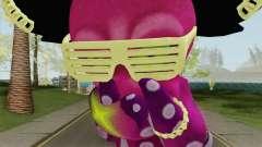 DJ Octavio Big V2 (Splatoon) para GTA San Andreas