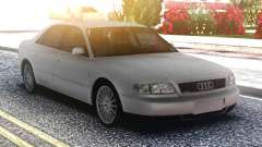 Audi A8 White Original para GTA San Andreas