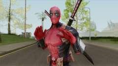 Deadpool From Marvel Super Wars