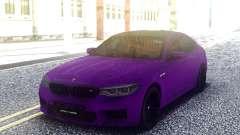 BMW M5 F90 Purple para GTA San Andreas