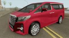 Toyota Alphard 2015 para GTA San Andreas