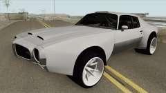 Pontiac Firebird 1970 HQ para GTA San Andreas