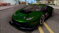 Lamborghini Huracan GT3 2015 Paint Job Preset 2 para GTA San Andreas