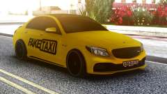 Mercedes-Benz C63 FAKE TAXI
