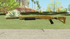 Shrewsbury Pump Shotgun (Luxury Finish) GTA V V2 para GTA San Andreas