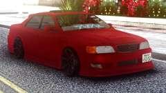 Toyota Chaser Red Sedan para GTA San Andreas