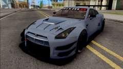 Nissan GT-R Nismo GT3 2014 Paint Job Preset 2 para GTA San Andreas