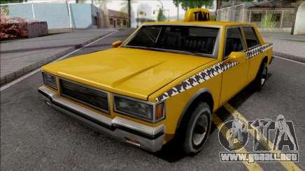 Declasse Taxi 1987 para GTA San Andreas