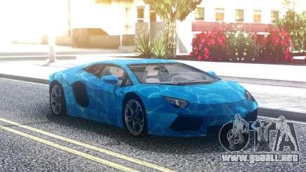 Lamborghini Aventador Underwater para GTA San Andreas