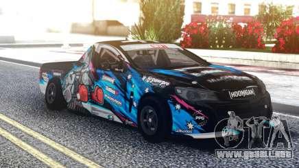 Vauxhall VXR8 Maloo 2012 para GTA San Andreas