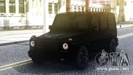 Mercedes-Benz G55 AMG Black Original para GTA San Andreas