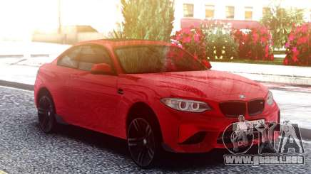 BMW M2 Red Original para GTA San Andreas