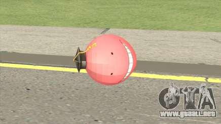 Korosensei Grenade (Red) para GTA San Andreas
