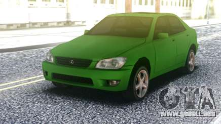 Lexus IS300 Green para GTA San Andreas
