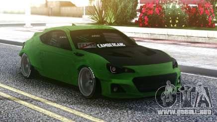 Toyota GT 86 para GTA San Andreas