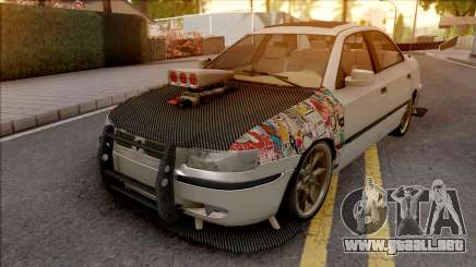 Ikco Samand Full Sport Grey para GTA San Andreas