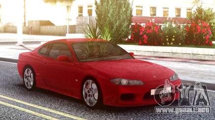 Nissan Silvia S15 Red Original para GTA San Andreas