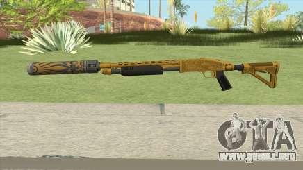 Shrewsbury Pump Shotgun (Luxury Finish) GTA V V6 para GTA San Andreas