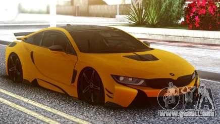 BMW I8 Yellow para GTA San Andreas
