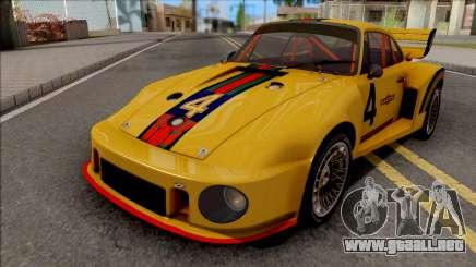 Porsche 935 Transformers G1 Jazz para GTA San Andreas
