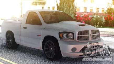 Dodge Ram Srt10 2006 para GTA San Andreas