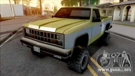 Declasse Yosemite Deluxe 1981 para GTA San Andreas