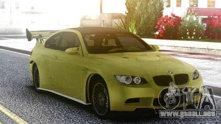 BMW M3 G-Power GT2 S Hurricane 2017 para GTA San Andreas