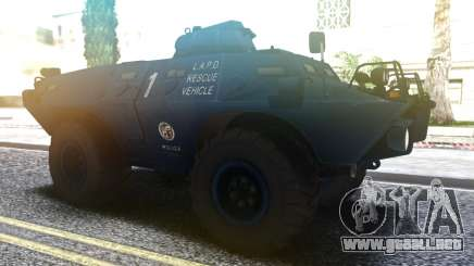 Cadillac V-100 Gage Commando LAPD.LSPD.SAPD para GTA San Andreas