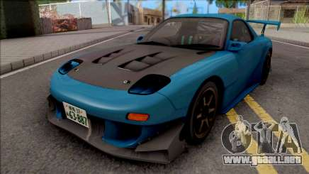 Mazda Efini RX-7 FD3s Initial D Fifth Stage  para GTA San Andreas