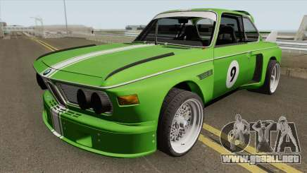 BMW 3.0 CSL 1975 (Green) para GTA San Andreas