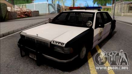 Chevrolet Caprice De 1992, la Policía LVPD SA de Estilo para GTA San Andreas