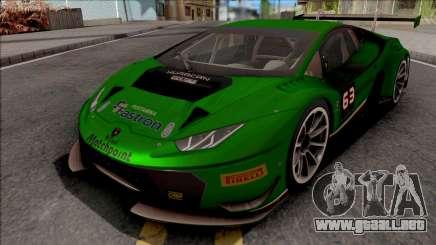Lamborghini Huracan GT3 2015 Paint Job Preset 1 para GTA San Andreas