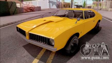 GTA V Declasse Stallion para GTA San Andreas