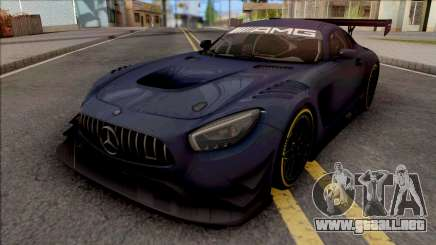 Mercedes-AMG GT3 2015 Paint Job Preset 1 para GTA San Andreas