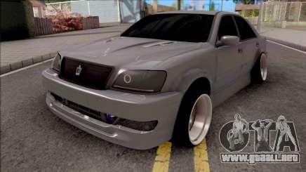 Toyota Crown Grey para GTA San Andreas