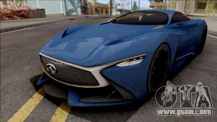 Infiniti Vision Gran Turismo 2014 para GTA San Andreas