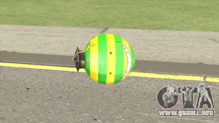 Korosensei Grenade (Green) para GTA San Andreas