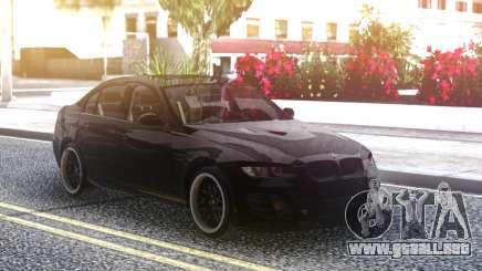 BMW M3 E90 Hamann Black para GTA San Andreas