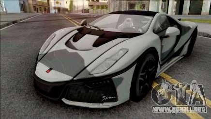 GTA Spano 2016 para GTA San Andreas