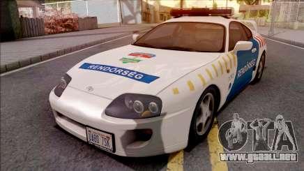 Toyota Supra Magyar Rendorseg para GTA San Andreas